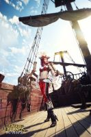Set sail! Miss Fortune cosplay by magmasaya