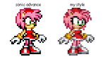 Revamp on the Amy sprite by supersilver27