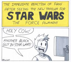 Star Wars- The Fans Reaction by RobertMacQuarrie1