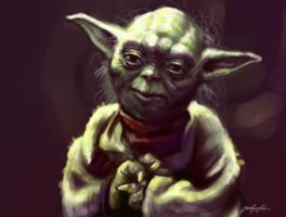Yoda Speedpainting by jsevs