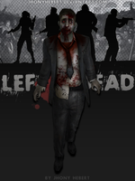 Zombie Male Suit - Left 4 Dead by JhonyHebert