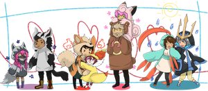 Pokemon Pairings by girupon