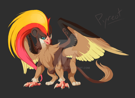 Pokefusion - Pyreot by Galahawk