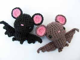 Amigurumi Bat 1 by MevvSan