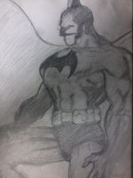batman by TheVelvetAnt