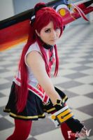 [Elsword] Elesis -Pyro Knight- Cosplay 1 by DGMxHaruka
