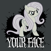 Your Face Shirt by tygerbug