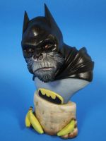 Batman as in the JLAPE Gorilla Warfare series by figuralia