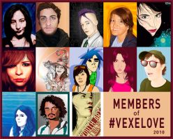 Members of Vexelove - 2010 by lilvdzwan