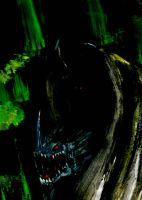 Witch King On Fellbeast by nergling