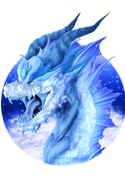 Ice dragon by Yukitashi