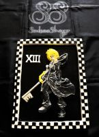 Roxas Plaque by SoulessStranger