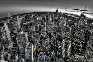 NYC, the world by alierturk