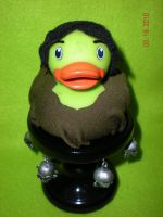 Legend Forest Jack Rubber Duck by Oriana-X-Myst