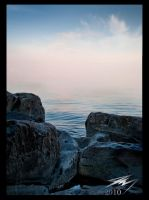 Rocks and Water by Murphoto