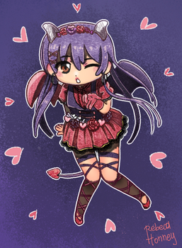Love Idol Umi by Rebeca-Honney