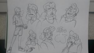 afro by reaperff7
