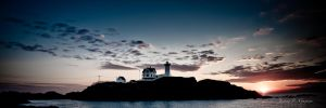 Lighthouse Sunrise by JPGagnon