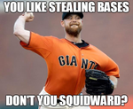 Squidward Likes Stealing Bases by INF3CT3D-D3M0N