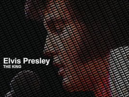 ~ Elvis Presley | Typography by CyCx