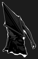 pyramid head by CloudCentral-