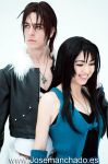 Squall and Rinoa by Zihark-cosplay
