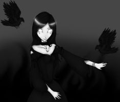 Mistress of Ravens by AnTheilo