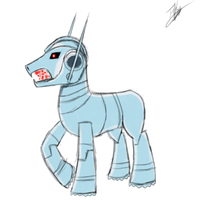 Ultron pony version by ToMaz777