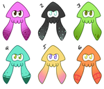 squid adopts (CLOSED) by NintenDash
