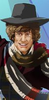 4th Doctor Detail shot by Risachantag