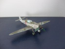 Messerschmitt Me 109 G-14 1:72 by Mrpalaces