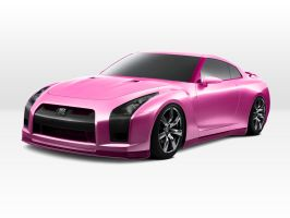 Nissan GTR by borncold