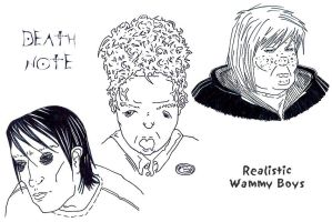 334 : DN : Realistic Wammys by witegots