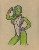 She Hulk 2 by wardog-zero