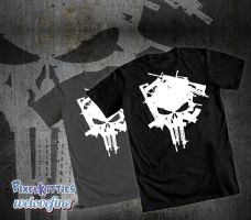 Punisher Armory Tee Shirt by PixelKitties