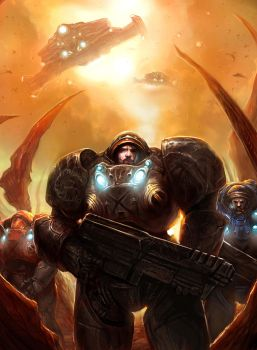 StarCraft 2: All-In by TheChaoticKnight