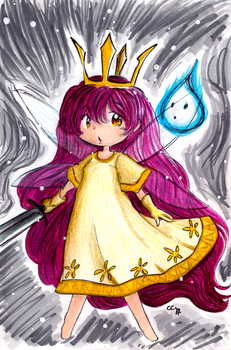 Child of Light by Cosmic-Sugar