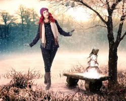 Winter Flirt by tinca2