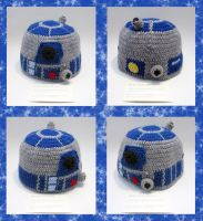 R2D2 Cap by TheSeaKnight