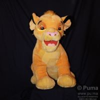 DisneylandParis Huge Cub Simba by dapumakat