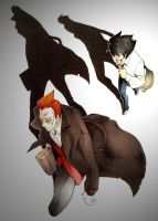 Mr. Crepsley and Darran by Bleach-Red-Abyss3
