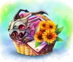 League of Legends:Kog'Maw in the flower basket by MizoreAme