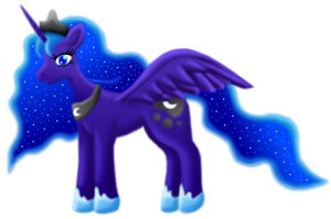 Princess Luna transparent