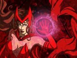 Scarlet Witch by Ederoi