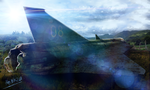 Saab Draken Of The End by HeiBK201