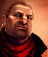Varric Tethras for Mary Kirby by Mabiruna