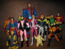 the legion of superheroes by wotan03