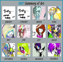 2012Summary of Art Meme [filled] by EhX-KoR