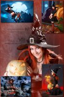 Halloween: City Witch Ruby (preview 2) by Lucithea
