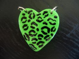 Green Leopard Print by MarianBlack83